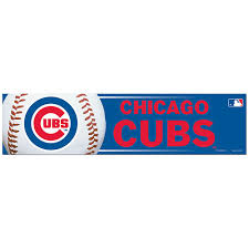 Chicago Cubs Bumper Sticker