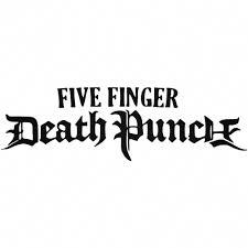 Five Finger Death Punch Text Logo Vinyl Decal Sticker Ballzbeatz Com Five Finger Death Punch Vinyl Decal Stickers Five Fingers