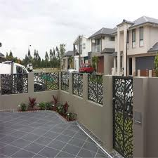 Low Price Removable Metal Galvanized Steel Garden Fence Laser Cut Fence Panels Wholesale Garden Buildings Products On Tradees Com