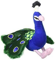 "Aurora Perry PEACOCK 12"" Flopsie Plush Stuffed Animal Bird NEW vieted.org.vn"