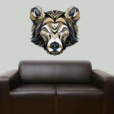 Bear Wall Sticker Decal By Andreas Preis