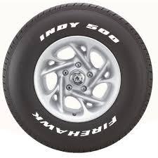 Firestone Firehawk INDY 500 Tire 275/40R18 TLBLPS99W by ...