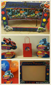 Blaze And The Monster Machines Party Ideas Cumpleanos Ninos