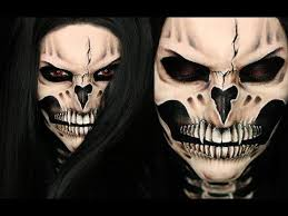vire skull makeup tutorial