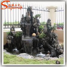garden stone buddha wall