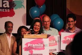 Supporters Overjoyed as Senator Pramila Jayapal Sweeps the Primary |  Seattle Weekly