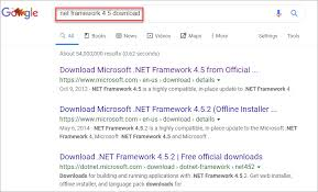 install net framework for windows 10