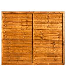 Waneyedge Fence Panel 6 Wide X 5 High A P Fencing