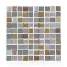 Super Sale 6775 Self Adhesive Mosaic Tile Wall Decal Sticker Kitchen Bathroom Backsplash Home Decor Vinyl Cicig Co