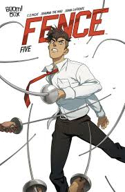 Boom Studios V Tvittere Seiji And Aiden Face Off In Fencecomic 5 But Who Will Come Out On Top Don T Miss Out On The Comic Shop Exclusive Fence Vol 1 Discover Now