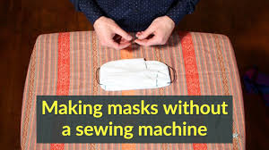 face mask without a sewing machine ...