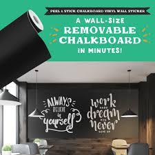 Chalkboard Vinyl Wall Decal Chalkboard Vinyl Vinyl Wall Decals Vinyl Wall Stickers