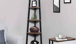 corner shelves design for living room