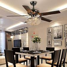 luxurefan retro crystal ceiling fan