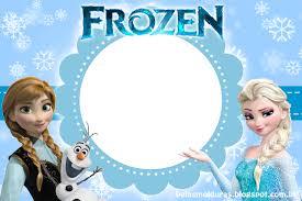 Resultado De Imagem Para Convite Aniversario Frozen Cumpleanos