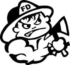Bad Boy Firefighter With Axe Window Decal Fire Decal Love My Firefig Firefighter Decals