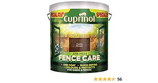Cuprinol 5l Plus 20 Percent Timber Care Rustic Brown Amazon Co Uk Diy Tools