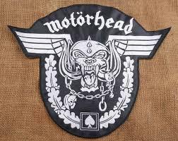 motorhead lemmy duża naszywka haftowana