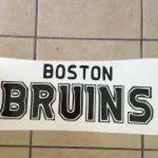 Sale Boston Bruins Nhl Hockey Sport Vinyl Decal Sticker 045 Etsy
