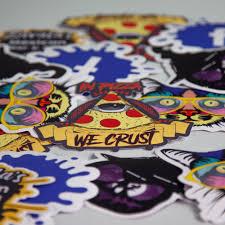 Custom Die Cut Vinyl Stickers Vispronet