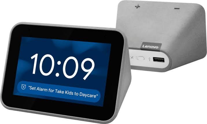 """Hasil gambar untuk lenovo smart clock"""""""