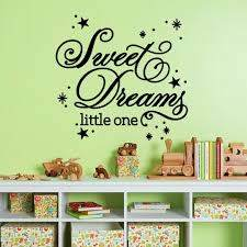 Etsy Shop Sweet Dreams Little One Removable Vinyl Wall Sticker Nursery Decor Vinyl Decals W Nursery Wall Stickers Vinyl Wall Stickers Vinyl Wall Decals