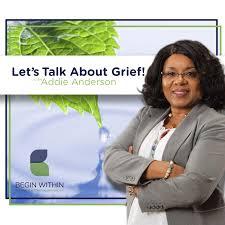 Let's Talk About Grief!   Listen via Stitcher for Podcasts