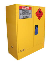 how flammable liquid storage cabinets work