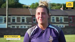 Kelly Morgan: Trans rugby player blazing a trail in Wales - BBC Sport