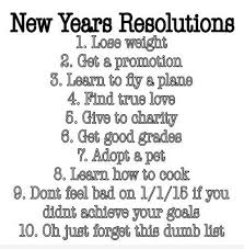 funny new year s resolutions that ll make you laugh