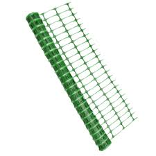 Temporary Fencing Green Safety Barrier Fence 1m X 25m