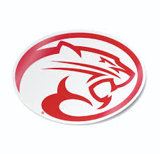 University Of Houston Cougar Logo Vinyl Car Decal Sticker Nudge Printing