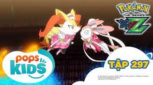 Pokémon Tập 297 - Huấn Luyện Hạng Bậc Thầy! - Hoạt Hình Pokémon ...