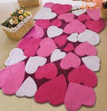 Pink Hearts Area Rug For Kids Best Choice For Your Beautiful Girl Kids Area Rugs Kids Rugs Childrens Area Rugs