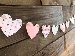 Pin by Wendi King on baby in 2020   Diy valentines decorations, Valentine  garland, Valentines day decorations