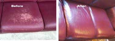 leather sofa repair color restoration