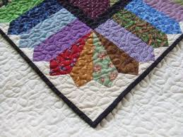 Gorgeous Dresden And Picket Fence Border Quilt Border Quilt Patterns Quilts