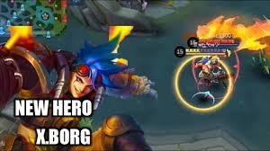 the cyborg body x borg new hero mobile legends