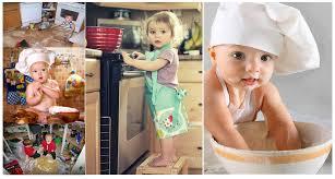 صور اطفال يقومون بالطهي صورة طفل في المطبخ نجوم مصرية