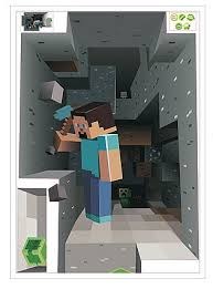 Minecraft 3d Wall Decal Sticker Boys Room Wall Decals