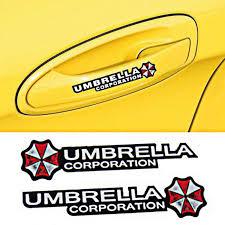 Funny Car Sticker Decal Pet Door Handle Grip Decal Zombie Resident Evil Umbrella Archives Midweek Com