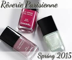 chanel spring 2016 nail swatches