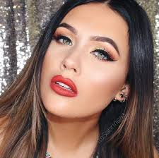 master a chic red lip makeup look with