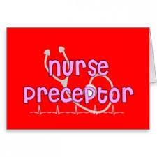 nurse preceptor thank you es