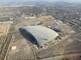 SoFi Stadium progress update - roof ...