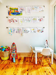 10 Diy Wall Art Ideas To Decorate Your Home On A Budget Art Display Kids Kids Room Art Hanging Kids Artwork