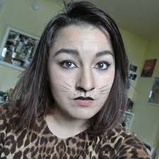 halloween makeup simple cat ashlito