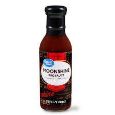 great value moonshine bbq sauce 12 fl