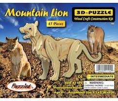 Mountain Lion - 3D Puzzles - CoTa Global