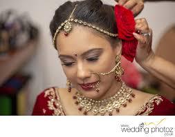 indian bridal makeup photography